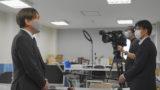 茨城県立高校入試の採点ミスについて、NHKの取材を受けました。